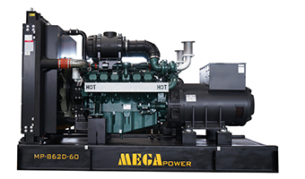 MP-D Series - Powered by Doosan Diesel Engines